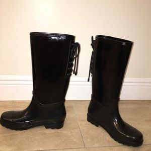 Nine West rain boots 8
